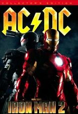 AC/DC - Iron Man 2 Collector's Edition CD & DVD + Poster, Comic Book & Sticker