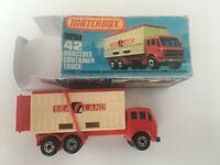 Matchbox superfast mit Repro Verpackung 1A Modell Zustand. Altes Spielzeug
