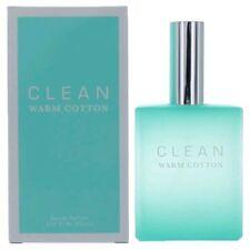 Clean Warm Cotton Eau De Parfum Perfume EDP Spray 2.14 oz 60ml NEW SEALED