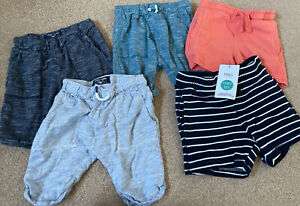 Boys Age 4-5 Next And M&S Shorts Bundle 5 Pairs