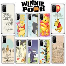 Winnie The Pooh lechón caso para Samsung Galaxy A10 A40 S10 Lite S20 A41 A51 A21s