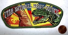 BSA Utah National Parks Council UT OA 508 DINOSAUR TYRANOSAURUS T-REX PATCH CSP