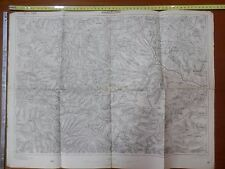Vecchia carta geografica militare prima guerra mondiale Serbia ARANGJELOVAC 1915
