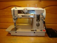 VINTAGE  SINGER SEWING MACHINE 401 A ,FULLY SERVICED
