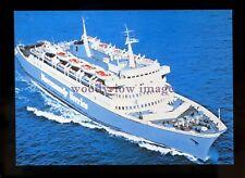 FE2809 - Normandy Ferries Ferry - Leopard , built 1968 - postcard