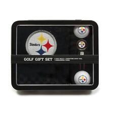 Team Golf Nfl Steelers Golf Gift Set: Towel, Golf Balls & Signature Divot Tool