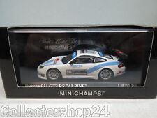 """Minichamps : PORSCHE 911 GT3 RS - ALPINE exclusive for """"COM FOR CAR"""" - 403016904"""