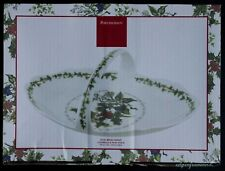 PORTMEIRION THE HOLY AND THE IVY LARGE OVAL BREAD BASKET BOXED