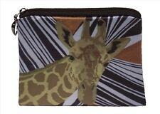 Animal Print Change Purse,Coin Wallet - From my Original Oil Painting
