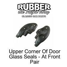 1968 - 1969 Ford Fairlane / Torino / Ranchero Upper Corner of Door Glass Seals