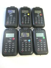 Lot of 6 Verifone Vx600 Bluetooth Ios Android Mobile Pos Pin Pad (Please Read)
