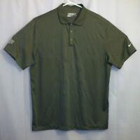 Nike Golf Polo Shirt Men's Extra Large XL Green Ohio Valley Tripartite