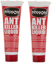 2 x Nippon Ant Insect Killer Liquid Gel 25g Home & Garden Black Ant Control