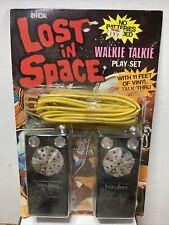 Vintage 1977 Lost in Space Walkie Talkie Play Set by Ahi. Nib! Sealed!