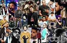 J COLE Collage Poster