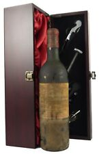 1969 Chateau Cos D'Estournel Vintage Red Wine with gift box and 4 accessories