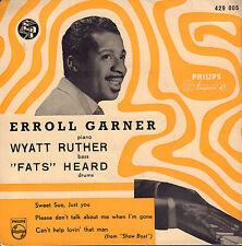 """ERROLL GARNER – Sweet Sue, Just You (50's JAZZ VINYL EP 7"""" HOLLAND)"""