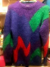 INDIVIDUALIST NORDSTROM MULTI-COLOR MOHAIR WOOL SWEATER SIZE WOMEN'S M....