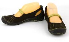 J-41 Women's Brown Vegan Mary Jane Beachcomber Walking Water Shoes Flats ~ 7M
