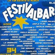 Festivalbar 2005-Compilation Blue [2 CD] Laura Pausini, Simple Plan, Natalie ...