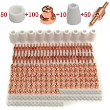 210pcs Consommable PT-31 LG40 Air Plasma Découpeuse Coupe Torche Electrode Buse