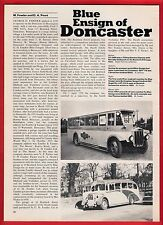 Buses Magazine Extract ~ Blue Ensign of Doncaster - History: Final Fleet - 1986
