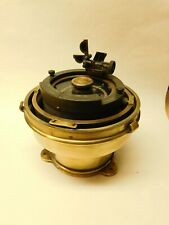 Antique/ Vintage British Brass Gimbals PELORUS & Matching Azimuth Ring
