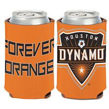 Houston Dynamo Can Cooler 12 oz. MLS Koozie