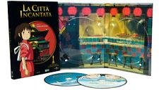 DVD LA CITTA' INCANTATA - ed. limited di Miyazaki 2 dvd digipack rarissima