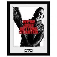The Walking Dead - 40.6cm x 30.5cm Gerahmt Bild ( Negan )