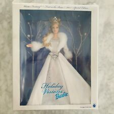 2003 HOLIDAY VISIONS BARBIE WINTER FANTASY Special Edition 1st in Series Plastic