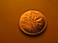Canada 1950 Gem BU Small Cent Penny IDJ318.