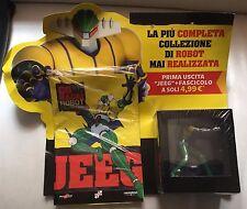 JEEG  GO NAGAI COLLECTION 1 fascicolo e statuetta  MAZINGA JEEG GOLDRAKE NUOVO