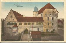 Aus Nachlass von Opa: alte Postkarte Forchheim, Kaiserpfalz 1914