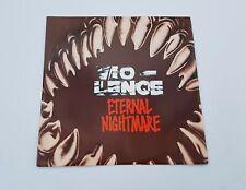 "Vio-Lence - Eternal Nightmare Limited Edition Thrash Metal 10"" Vinyl Record"