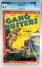 GANG BUSTERS #7, DC, 12/48-1/49, CGC GRADED @ 4.5, The T-Men!