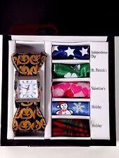KESSARIS Watch Seasonal 6 in 1 Holiday Scarf Set Ladies Women's in Original Box