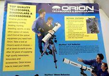 "ORION Telescope & Binoculars CATALOG Brochure Advertising Sales List 1990 16"" 12"