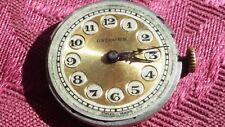 Rolex Unicorn Movement with dial and original hands for spares / repairs