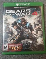 Gears of War 4 (Xbox One, 2016) played once xbox one ship fast
