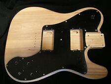 Fender lic 72 Telecaster Deluxe Ash Custom Vintage Tele 2 Pc Guitar Body 5.3 lbs