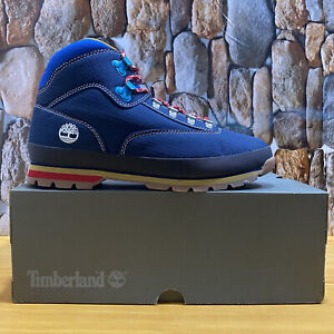 TIMBERLAND MEN'S EURO HIKER KNIT MID HIKING BOOTS 0A2NJR SIZE 12M