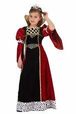 COSTUME REGINA MEDIEVALE TG. 10-12 ANNI Carnevale Re Principessa Contessa 06766