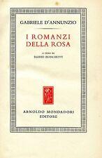 Gabriele D'Annunzio = I ROMANZI DELLA ROSA DURA11