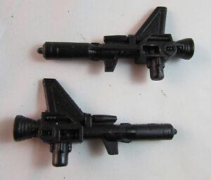 G1 Clones WINGSPAN GUNS (Pair) Resin Repro also Fits POTP Wingspan black