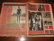 LO SPORT ILLUSTRATO GAZZETTA 1965/2 SIMMENTHAL CATANIA INTER JUVENTUS VARESE