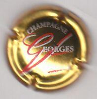 capsule de champagne VESSELLE Georges, or blanc et rouge