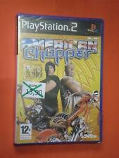 PS2 GIOCO-PER PLAYSTATION 2- AMERICAN CHOPPER- nuovo e sigillato- IN ITALIANO