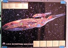 1701 E - Querschnitt Kunstdruck - Star Trek cutaway limited Edition new 70x100