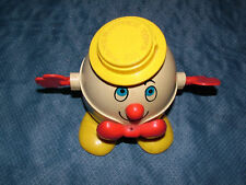 VINTAGE  FISHER PRICE TOYS HUMPTY DUMPTY PULL TOY